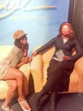 Wax Museum in San Antonio. Ran into Oprah!